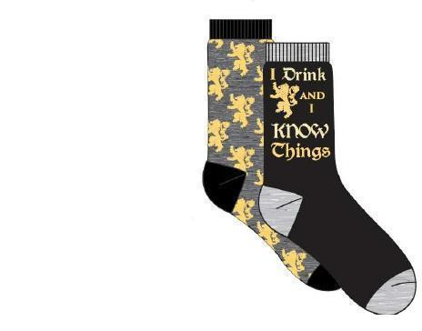 Games of Thrones - I Drink And I Know Things Socks [2 Pairs]