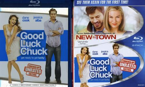 New in Town/Good Luck Chuck [2 Discs] [Blu-ray]