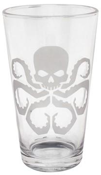 Hydra Etched Pint Glass