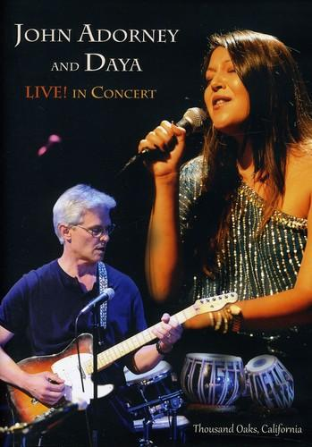 John Adorney and Daya: Live! In Concert