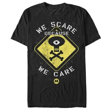 Monsters Inc Scare Warning T-Shirt