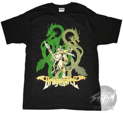 Dragonforce Two Dragons T-Shirt