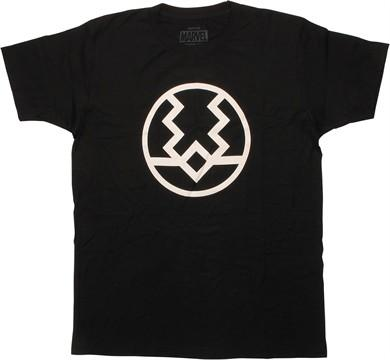 Inhumans Black Bolt Logo T-Shirt
