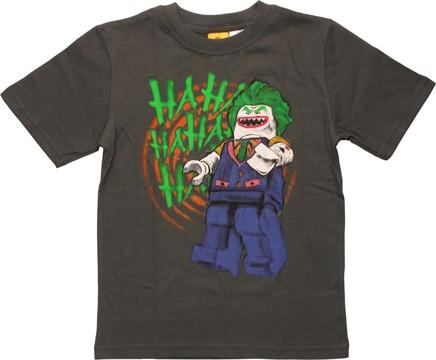 Joker Lego Laughing Juvenile T-Shirt