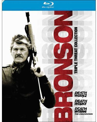 Bronson Triple Threat Collection [3 Discs] [Blu-ray]