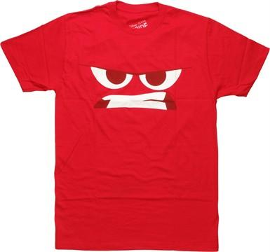 Inside Out Anger Face T-Shirt