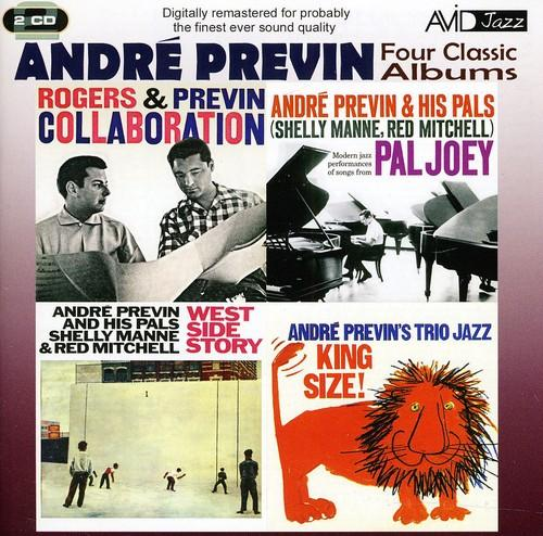 André Previn - West Side Story/Collaboration/King Size/Pal Joey