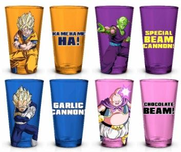 Dragon Ball Z 16 oz Drinking Glasses [Set of 4]