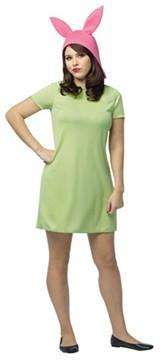 Bob's Burgers Louise Dress and Hat Adult Costume