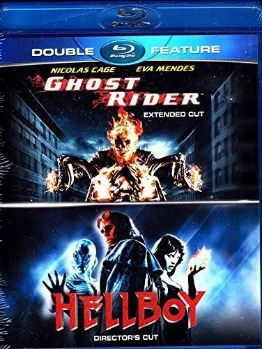 Ghost Rider (Extended Cut)/Hellboy (Director's Cut) [Blu-ray]