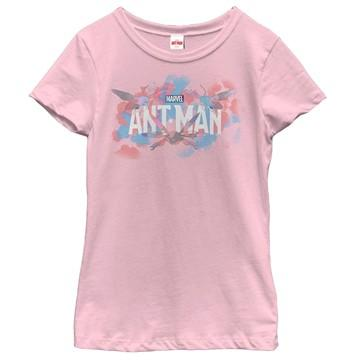 Ant-Man Watercolor Logo Girls Shirt