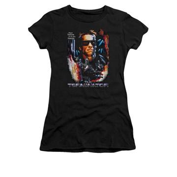 Terminator Your Future Juniors T Shirt